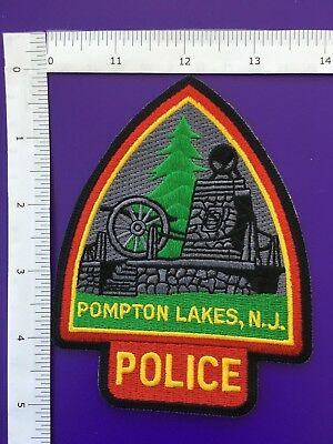 Pompton Lakes  New Jersey  Police Shoulder Patch