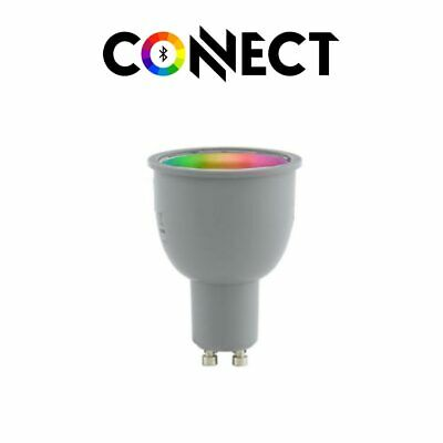 GU10 LED-Leuchtmittel Connect / 4W / RGB+CCT Bluetooth WIFI APP IOS Android