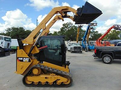 "2014 Cat 259D Turbo 2 Speed  ""air Conditioned"" Hydraulic Coupler - New Tracks"