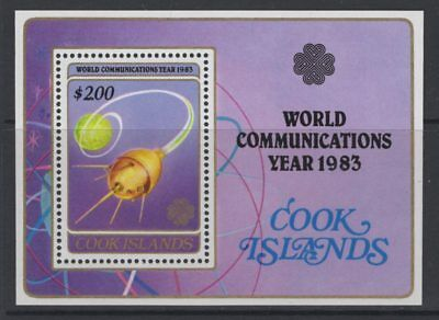 Cook Islands Sgms931 1983 World Communications Year Mnh