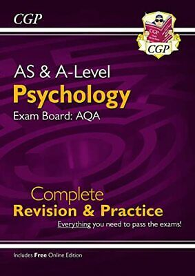 AS and A-Level Psychology: AQA Complete Revision & Practice with... by CGP Books