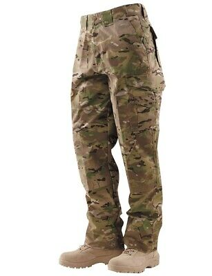 Tru-Spec 24-7 Series Mens Tactical 65/35 Polyester/Cotton RipStop Pants,Multicam
