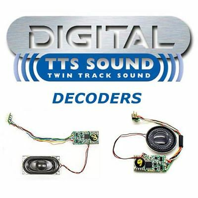 HORNBY Digital TTS Sound Decoder convert any DDC Ready Loco to Full Sound Choose