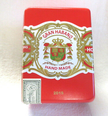 Santa Cruz Gran Habano Corojo Gran Robusto Red Wood Cigar Box  - Beautiful!