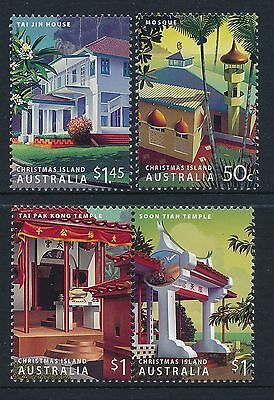 2006 Christmas Island Heritage Buildings set of 4 Fine Mint MNH/MUH