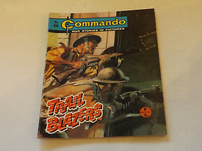 Commando War Comic Number 494,1970 Issue,v Good For Age,47 Years Old,very Rare.