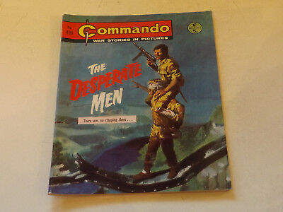 Commando War Comic Number 496,1970 Issue,v Good For Age,47 Years Old,very Rare.