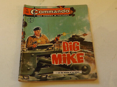 Commando War Comic Number 522,1971 Issue,v Good For Age,46 Years Old,very Rare.