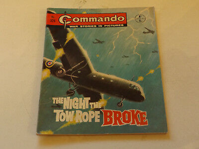 Commando War Comic Number 524,1971 Issue,v Good For Age,46 Years Old,very Rare.