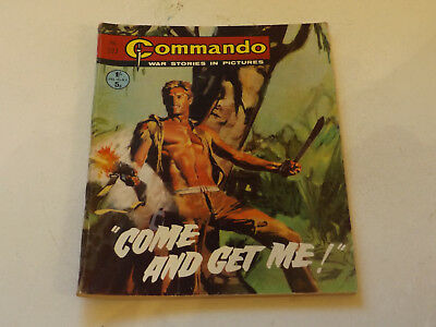 Commando War Comic Number 527,1971 Issue,v Good For Age,46 Years Old,very Rare.