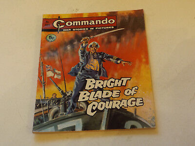 Commando War Comic Number 535,1971 Issue,v Good For Age,46 Years Old,very Rare.