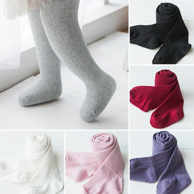 Warm Knitted Cotton Baby Girl Kids Hosiery Pantyhose Pant Stockings Socks Tights