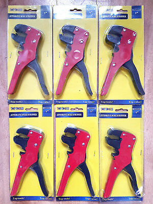 "6 x Top Tools 7"" Automatic Wire Stripper Bulk Wholesale"