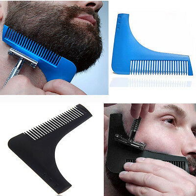 Practical Beard Bro-Beard Shaping Brushes Tool Perfect Lines Symmetry Style C