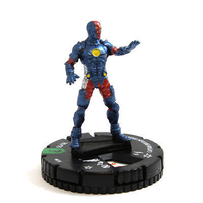 Marvel Heroclix What If? #019 Captain Britain Iron Man