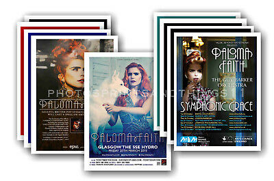 PALOMA FAITH - 10 promotional posters  collectable postcard set # 1