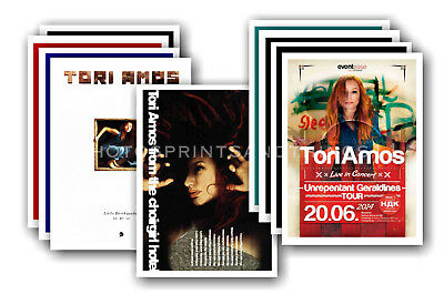 TORI AMOS - 10 promotional posters  collectable postcard set # 1