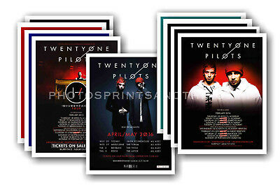 TWENTY ONE PILOTS - 10 promotional posters  collectable postcard set # 1