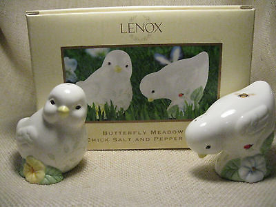 Lenox Butterfly Meadow - Chick Salt and Pepper Shaker Set