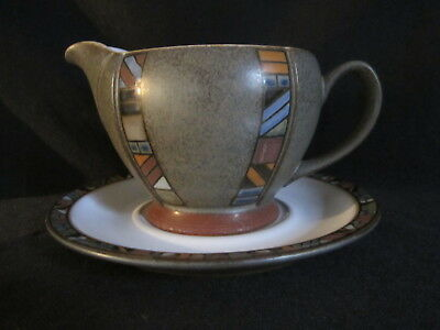 Denby - MARRAKESH - Gravy Boat and Stand