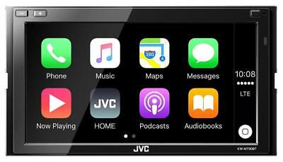 JVC KW-M730BT Doppel-DIN MP3-Autoradio Touchscreen Bluetooth USB iPod AUX