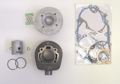 5 Port Cast Cylinder Kit & Alloy' Head For Vespa Px / Lml 125/150 Scooters