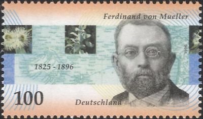 Germany 1996 von Mueller/Botanist/Science/Flowers/Plants/Nature/People 1v n45070