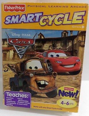 New Fisher Price Smart Cycle Interactive Cartridge Disney Cars