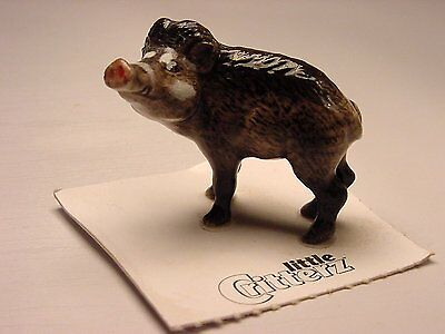 "Little Critterz - LC439 ""Baboy"" Warty Pig"