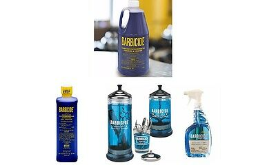 Barbicide Desinfectante Concentrado Solution,Tarro de Cristal & Spray Multi List