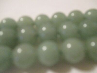 "3  ~ 15.5""  Strands 6.3 mm Smooth Polished Genuine Jade Beads Gemstone  A253"