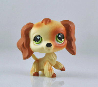 Pet Spaniel Dog Collection Child Girl Boy Figure Littlest Toy Loose LPS978