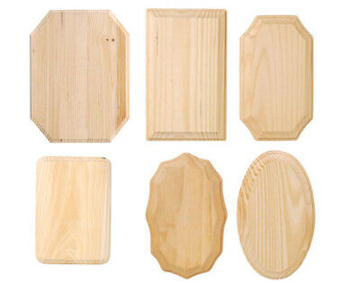 Chunky Solid Pine Wood Plaques to Decorate