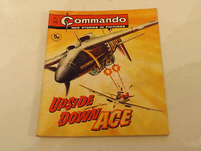 Commando War Comic Number 572,1971 Issue,v Good For Age,46 Years Old,very Rare.