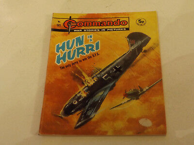 Commando War Comic Number 581,1971 Issue,v Good For Age,46 Years Old,very Rare.
