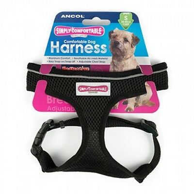 Ancol Comfort Soft Mesh Padded Adjustable Dog Puppy Comfortable Harness Reflecti