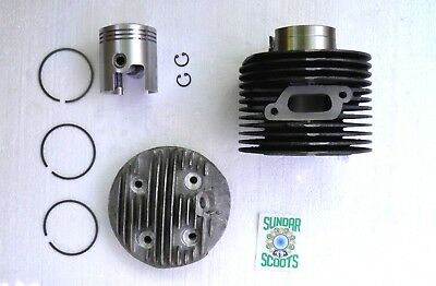 200 cc CYLINDER KIT FOR THE 3 WHEELER LAMBRO INCLUDES CYLINDER, HEAD AND PISTON