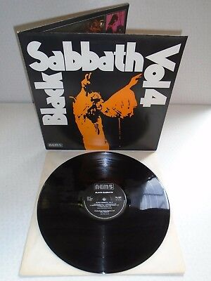 Black Sabbath-Vol 4...superb Near Mint Uk Issue Vinyl Lp Record 1976