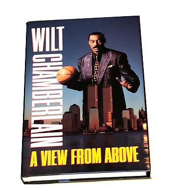 Nba Wilt Chamberlain A View From Above Hand Signed Autographed Book With Coa