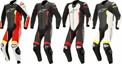 Alpinestars Mens Missile 1 Piece Tech-Air Compatible Leather Suit