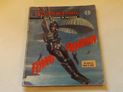 Commando War Comic Number 482,1970 Issue,fair For Age,47 Years Old,very Rare.