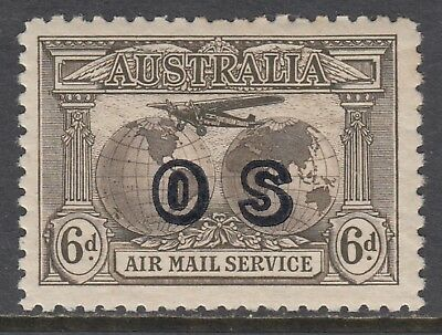 1931 6d AIRMAIL OFFICIAL, Mint Lightly Hinged