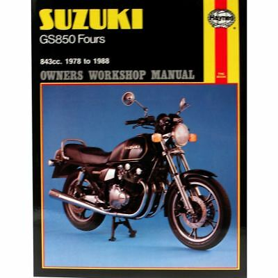 Workshop Manual Suzuki GS850C 1978-1988