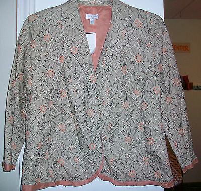 NWT $245 A Pea in the Pod Maternity Jacket Blazer M Medium NEW