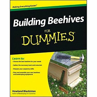 Building Beehives For Dummies (For Dummies (Lifestyles  - Paperback NEW Howland