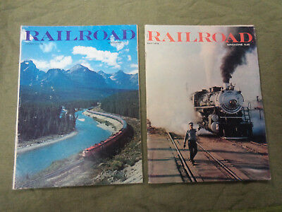 #JJ5. 1960-70s  RAILROAD MAGAZINES  - JOB LOT OF 19