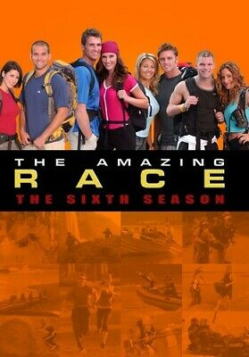 The Amazing Race: The Sixth Season [New DVD] Manufactured On Demand, NTSC Form