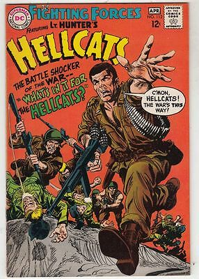 Our Fighting Forces #112 Hellcats strict VF 8.0 High-Grade    Wythville