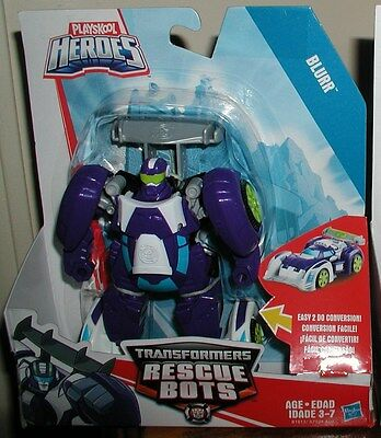transformers rescue bots BLURR ACTION FIGURES easy transform NEW HARD TO FIND