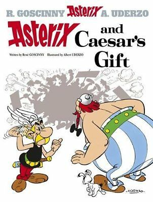 Asterix and Caesar's Gift: Album 21 by Albert Uderzo Hardback Book The Cheap